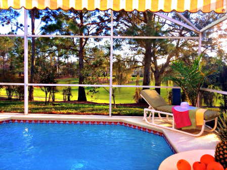 Disney vacation home with a pool